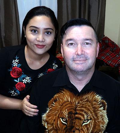 Rob and Samantha
