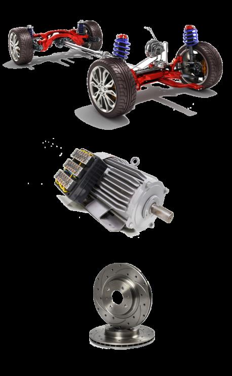Custom Golf Cart Suspension Motor Brakes