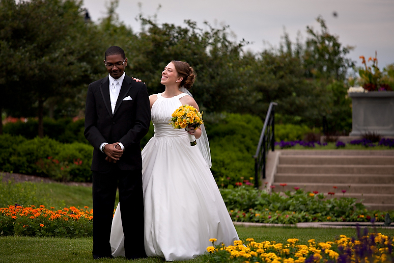 Wedding at McGraw Park in Bloomington IL