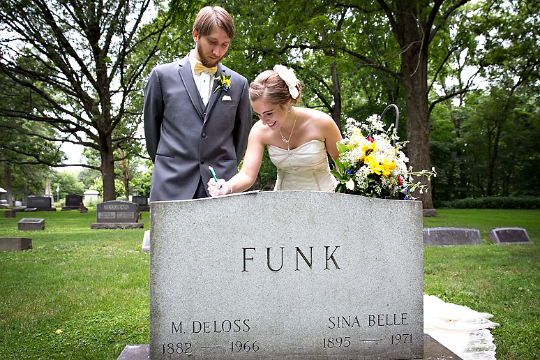 Funks Grove Central Illinois Wedding Photographer