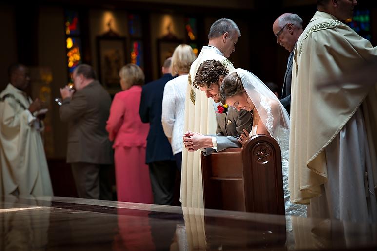 Epiphany Church Normal IL wedding photos