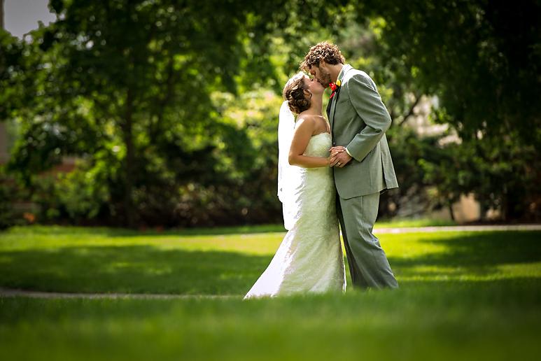 Illinois State University ISU wedding photos