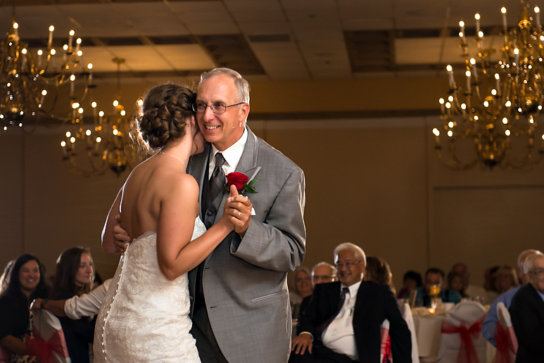 Chateau Hotel bloomington il Wedding