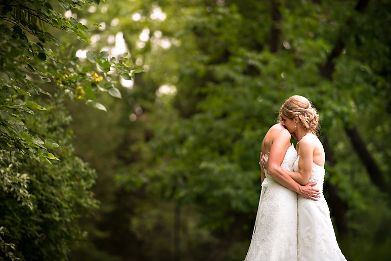 Same Sex Starved Rock IL Wedding Photos