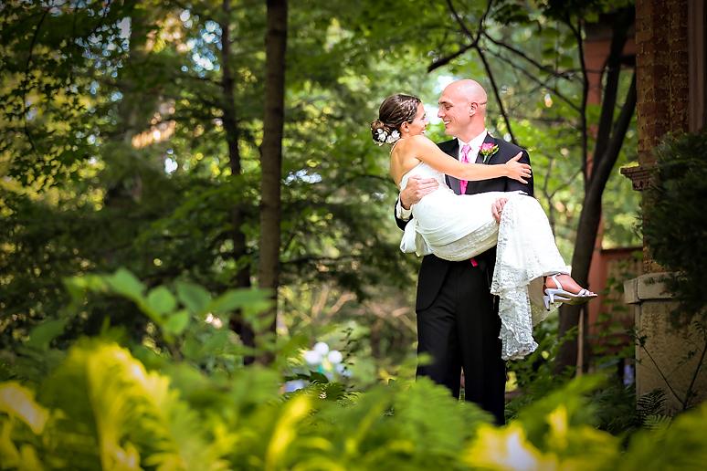 Vrooman Mansion Bloomington IL Wedding Photos