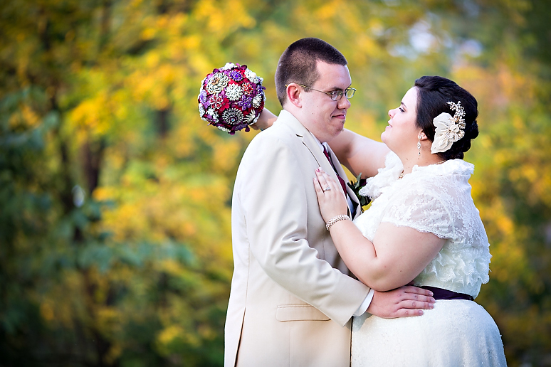 Davis Lodge Hudson IL Wedding