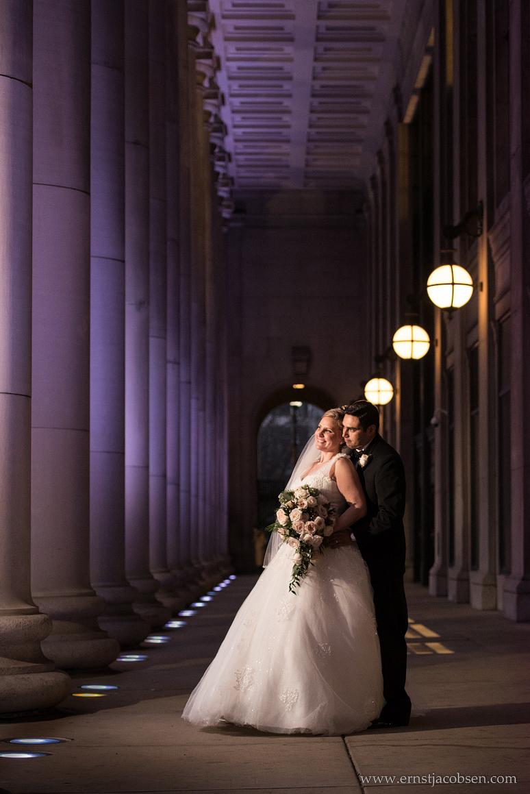 Chicago Union Station Wedding Photo