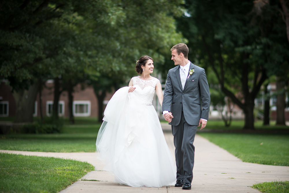 Illinois State University Brown Ballroom Wedding | Normal IL