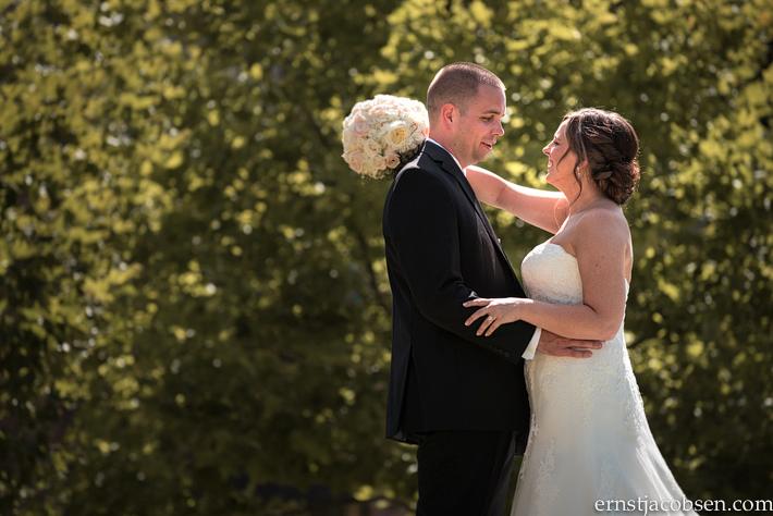 Bloomington Normal Marriott Hotel Wedding Photo