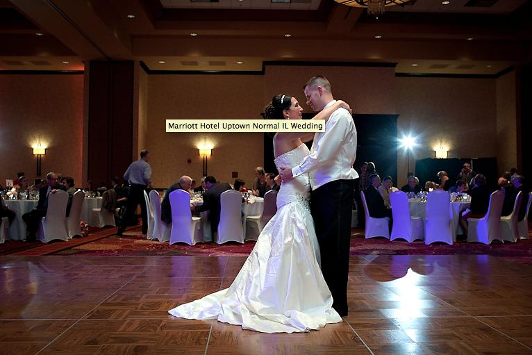 Bloomington-Normal Marriott Hotel Wedding