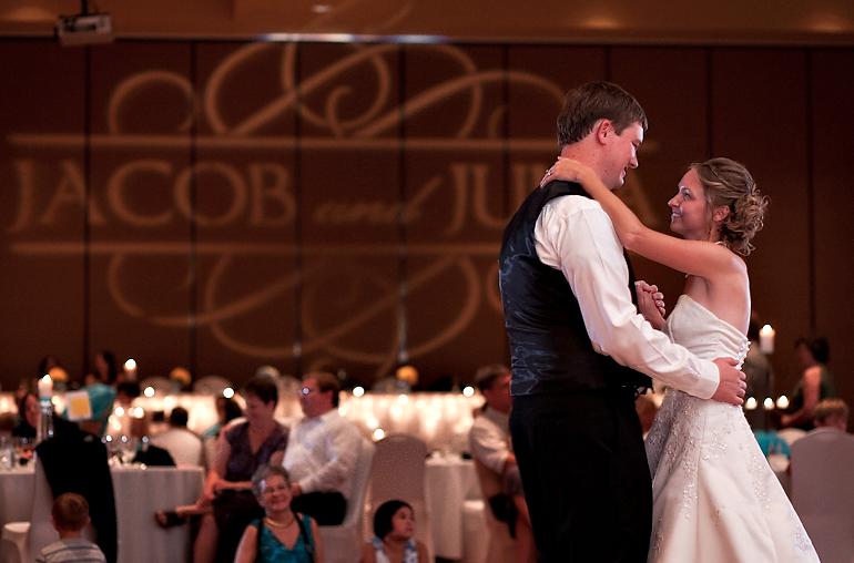 Bloomington Normal Marriott Hotel Wedding