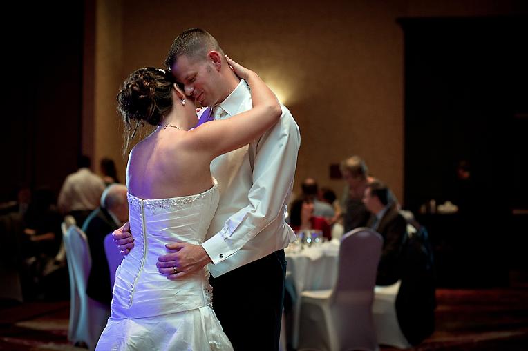 Normal IL Marriott Wedding Reception Photo