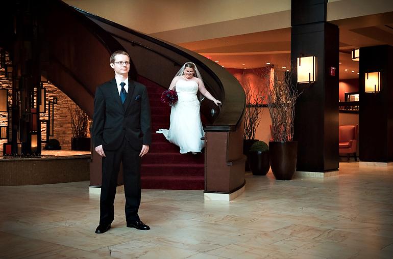 Bloomington Normal Marriott Hotel Wedding Reception