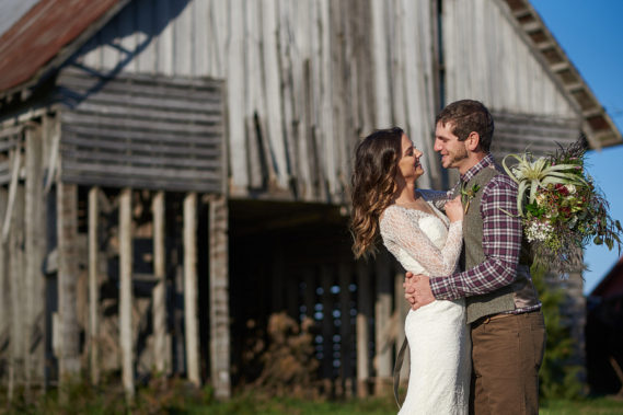 OTTAWA IL BARN WEDDING