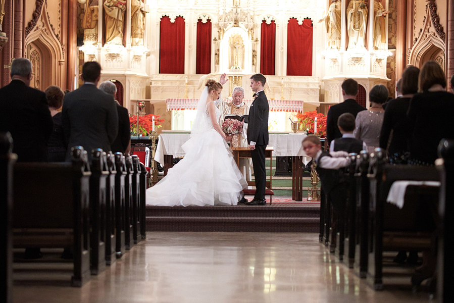 Holy Family Church Wedding Roosevelt Road Chicago IL