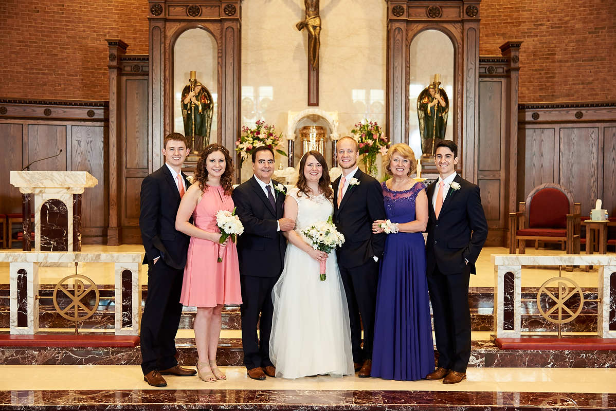 St. Mathews Catholic Church Champaign IL Wedding