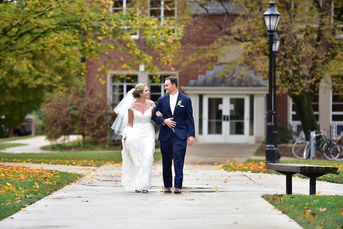Illinois Wesleyan Memorial Center Wedding