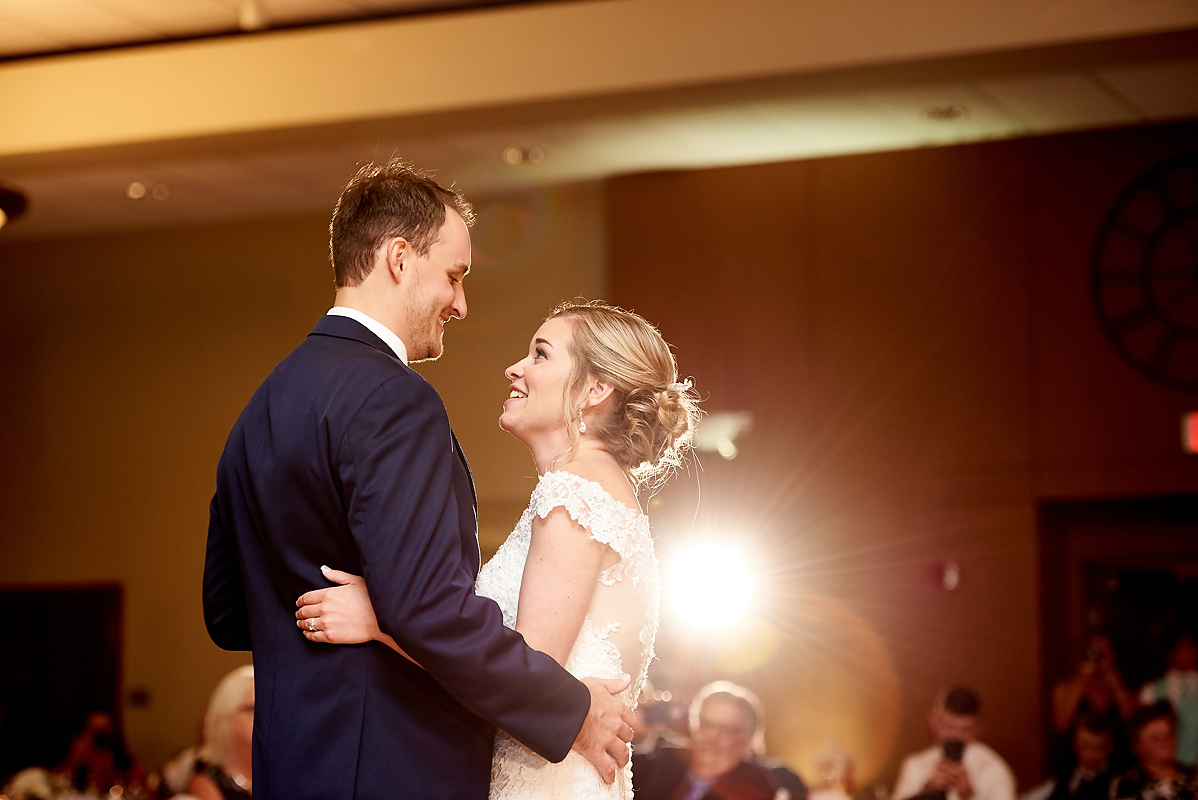 Illinois Wesleyan Memorial Center Wedding Photos Bloomington, IL