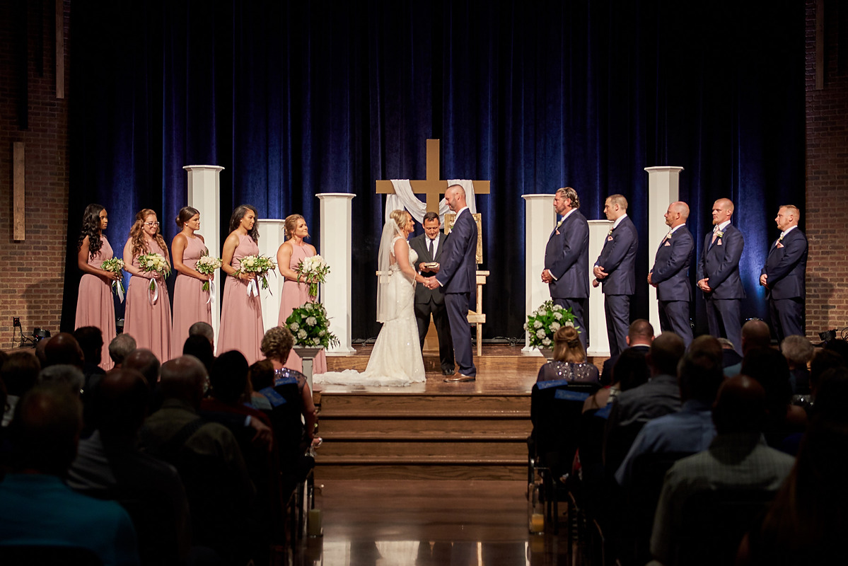 Eastview Church Wedding photo Normal IL