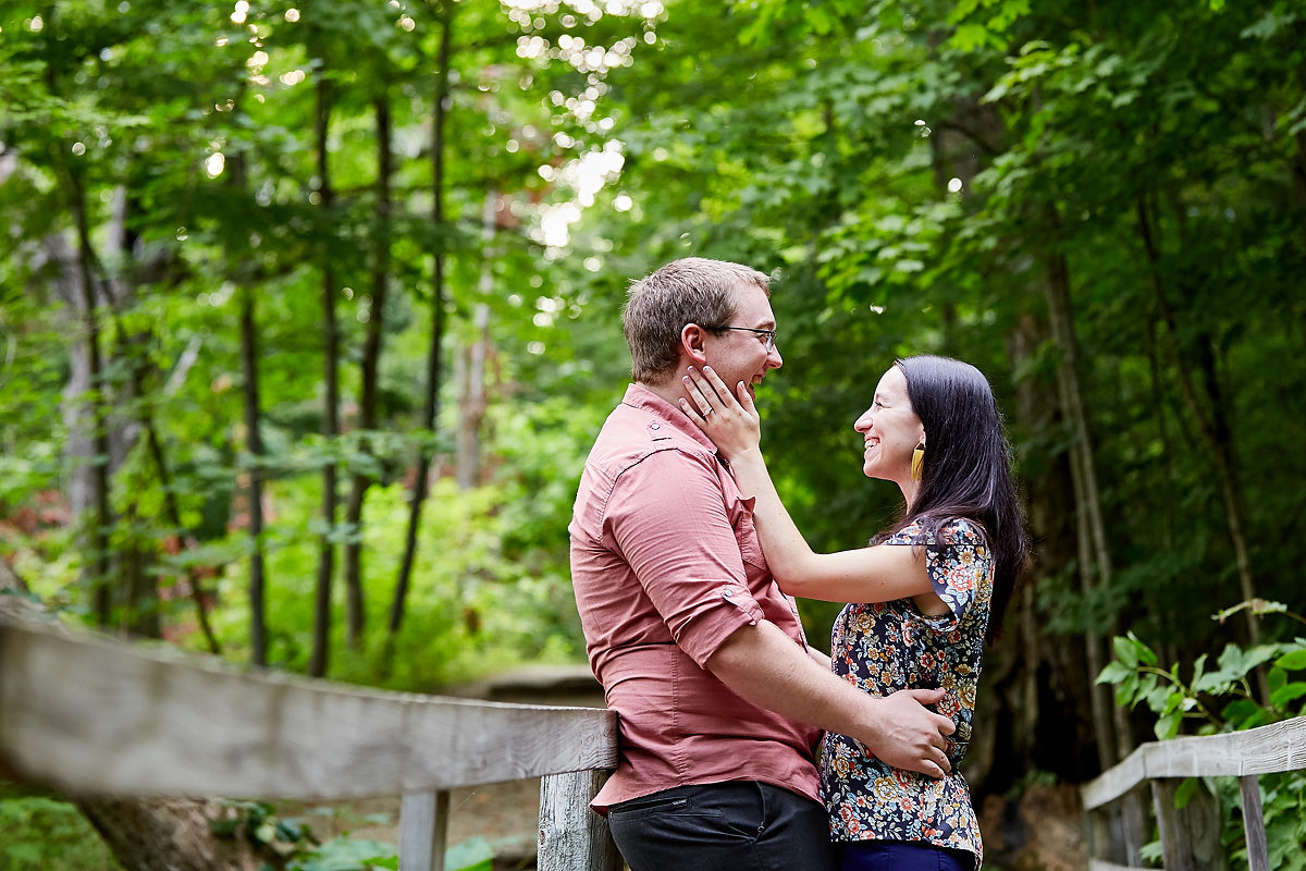 Lake Evergreen Wedding Engagement Photos