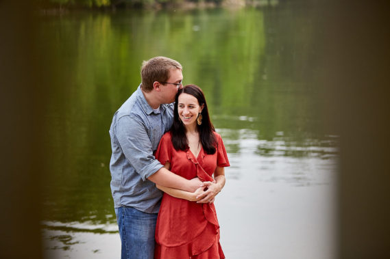 Lake Bloomington Engagement Session
