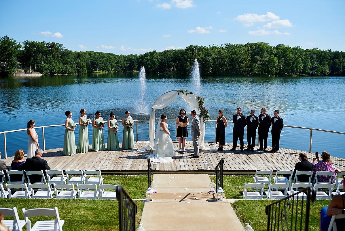 Oak Terrace Resort Wedding Pana IL