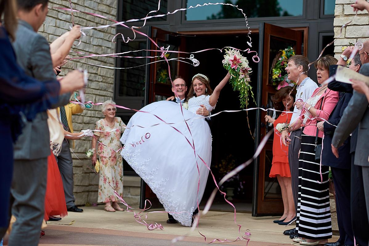Epiphany Catholic church wedding normal il