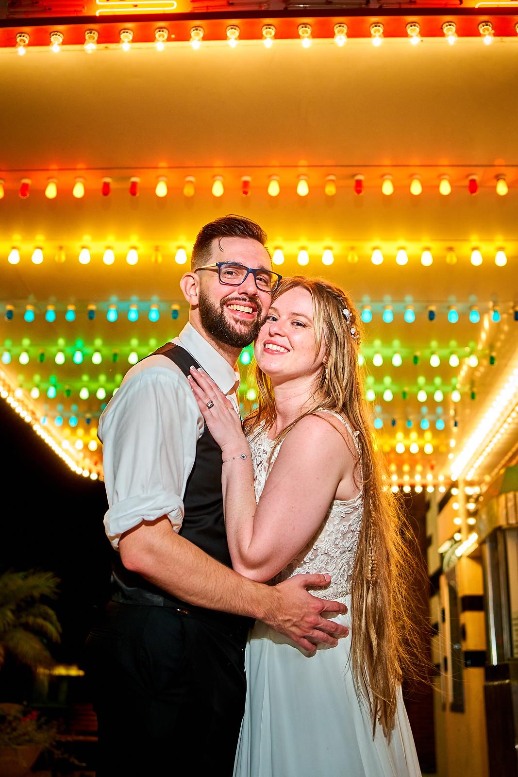 Uptown Theatre Wedding Photos Normal Illinois