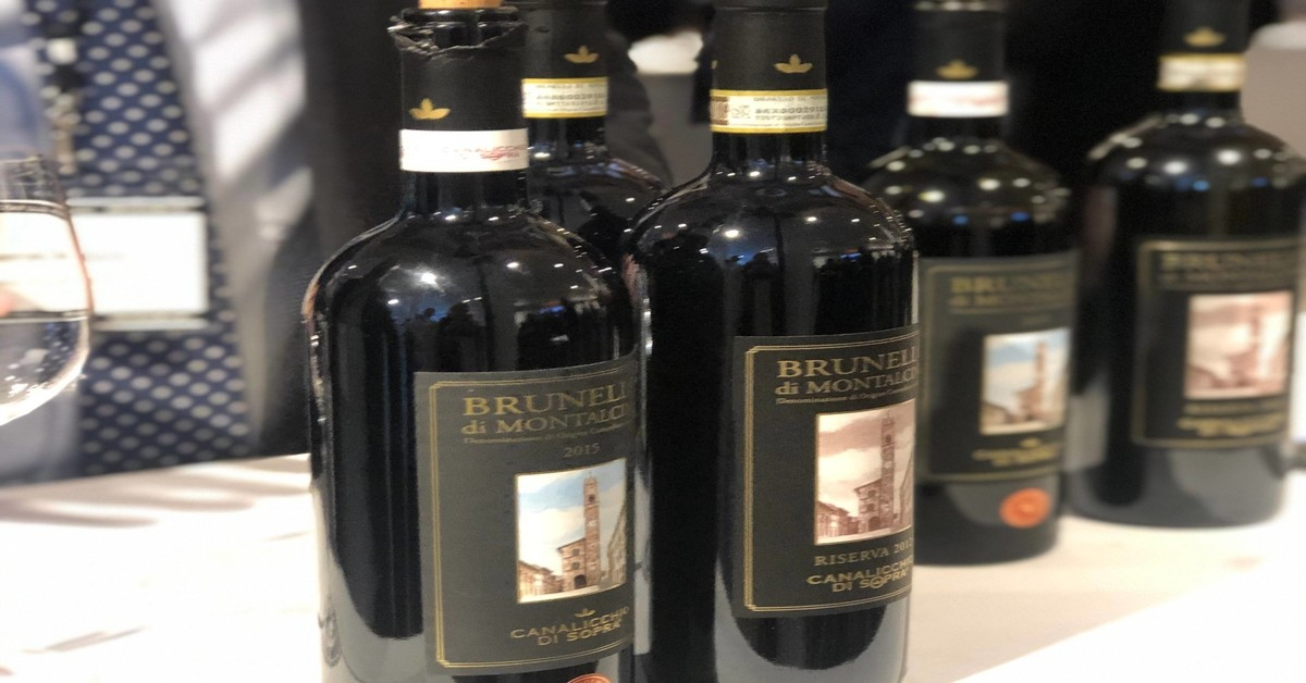 Miami great wines of Italy tour