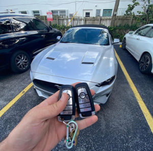 Ford Mustang 2018 push to start