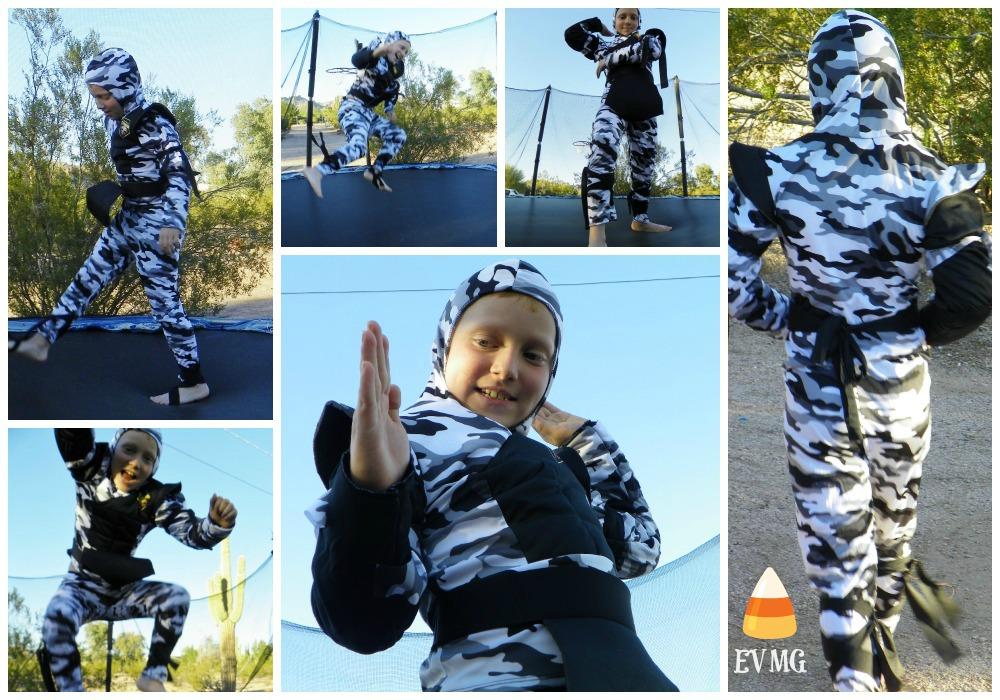 ninja collage