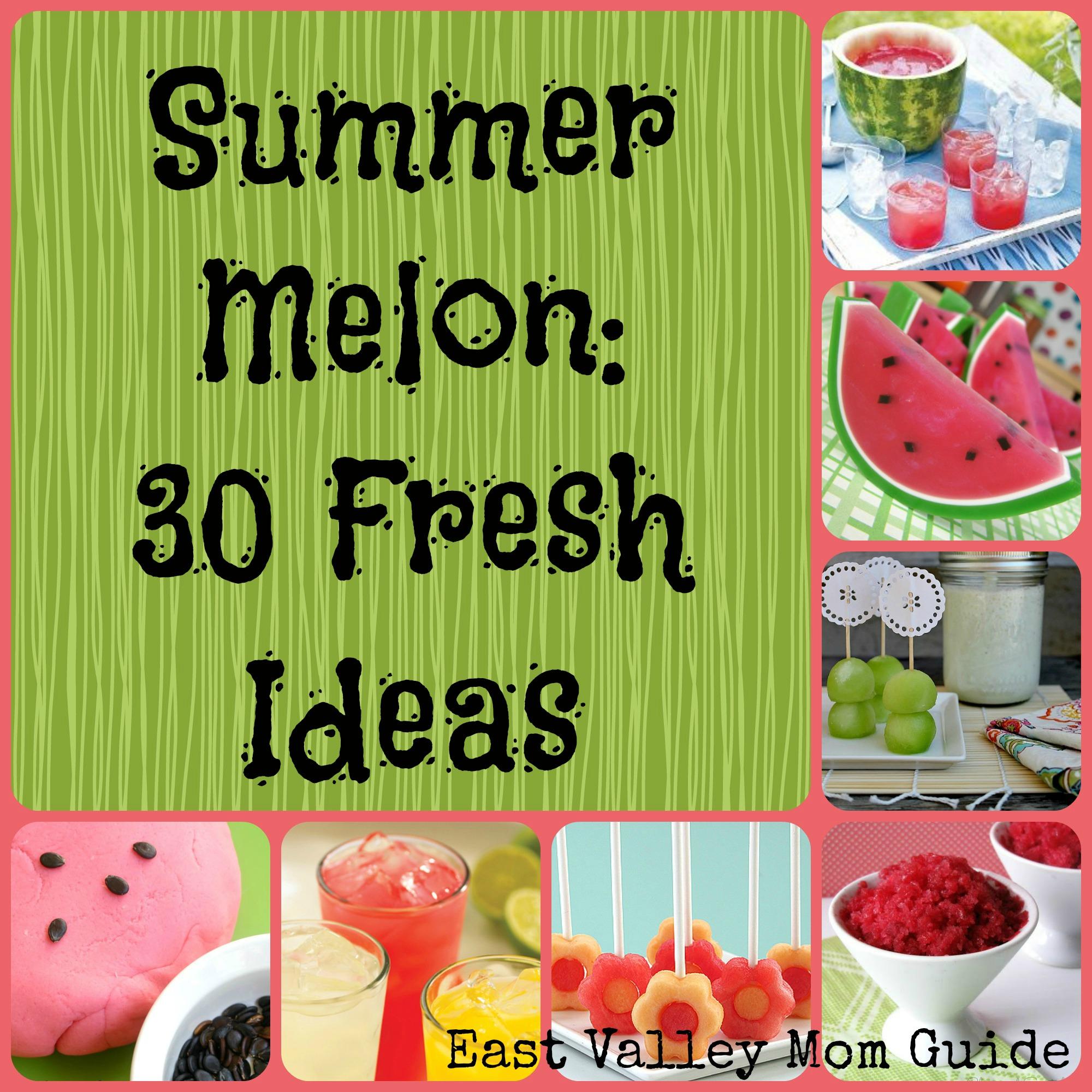 Summer Melon Collage