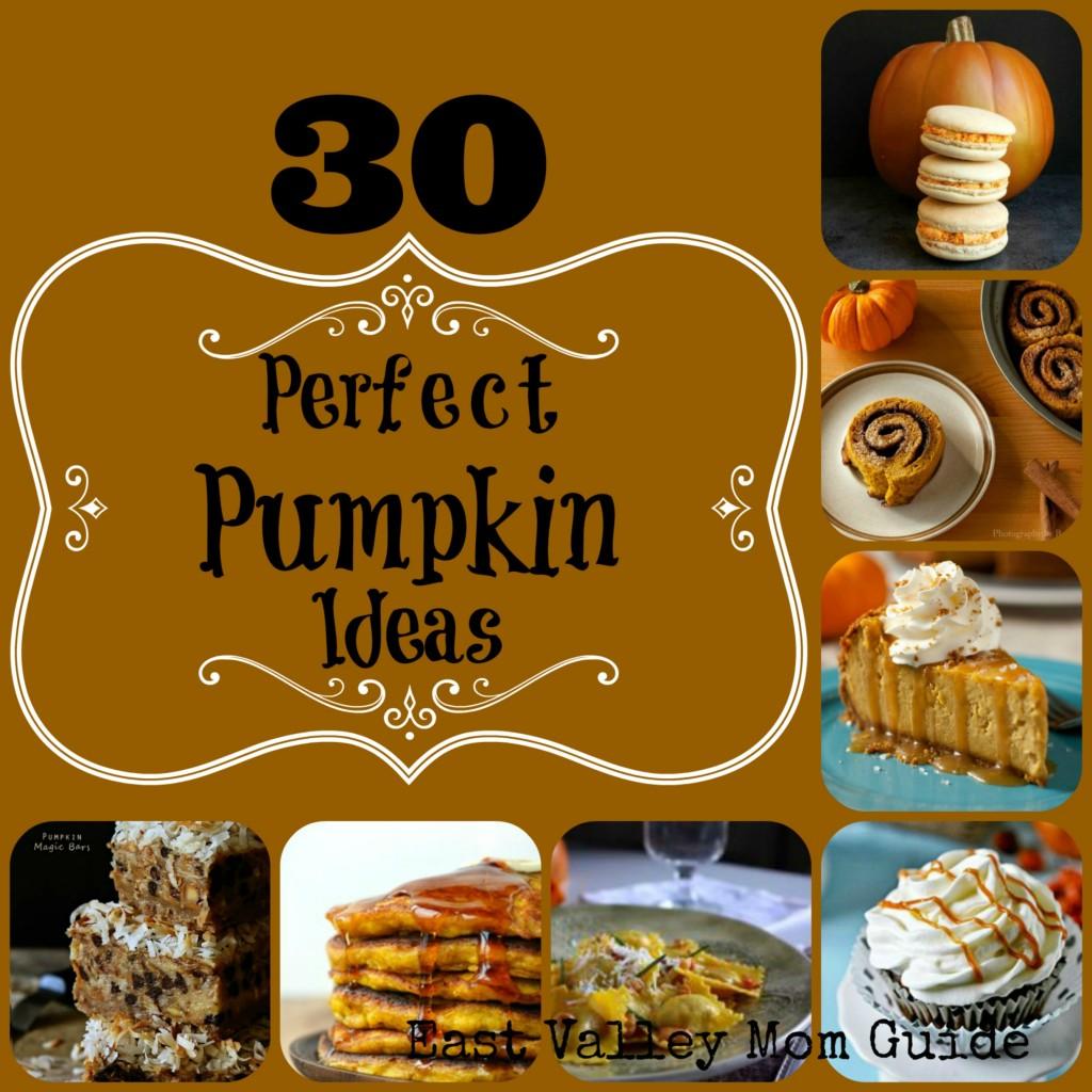 30 Perfect Pumpkin Ideas