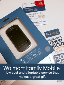 Walmart Family Mobile Unlimited Plans are the Perfect Gift #FamilyMobileSaves #cbias #shop