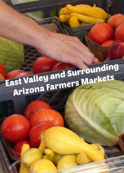 East Valley and Surrounding Arizona Farmers Markets