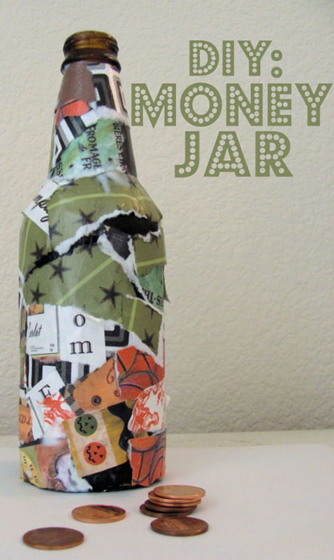 DIY Kids Craft: Money Jar