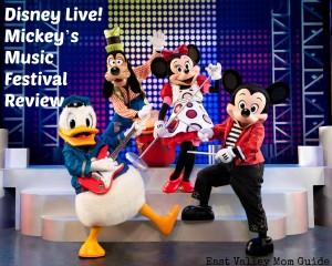 Disney Live! Mickey's Music Festival Review