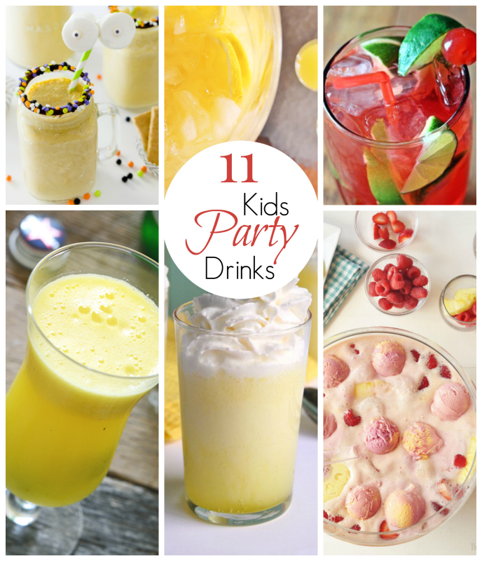 Looking for a great party drink or punch for your next kids' party?  Try one of these 11 Amazing Kid Party Drinks.