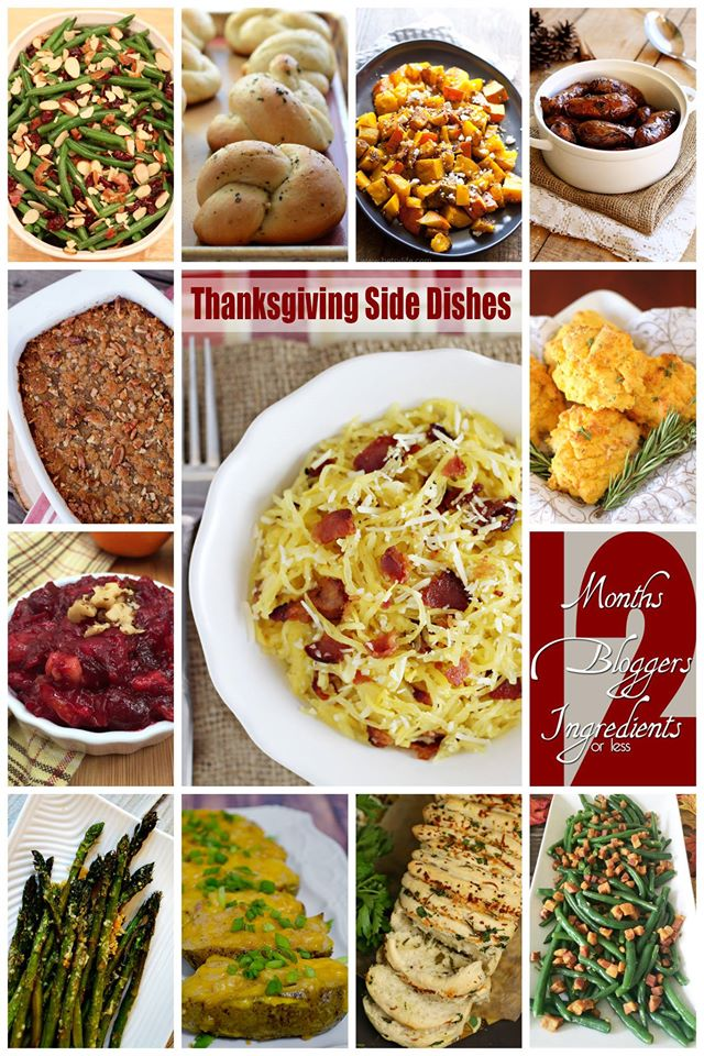 12 Thanksgiving Side Dishes