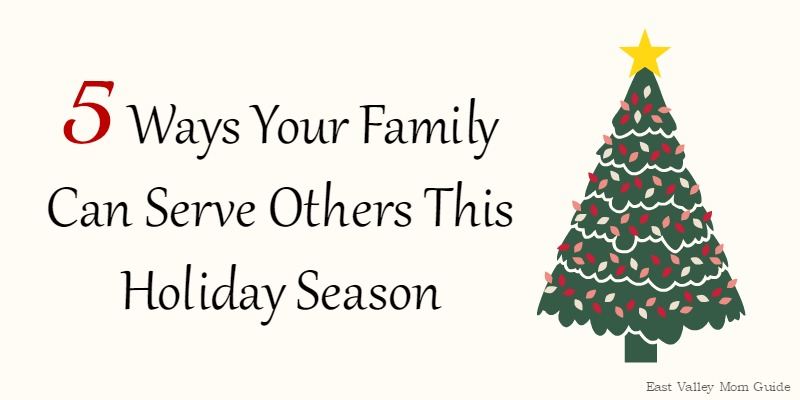 5 Ways Your Family Can Serve Others This Holiday Season