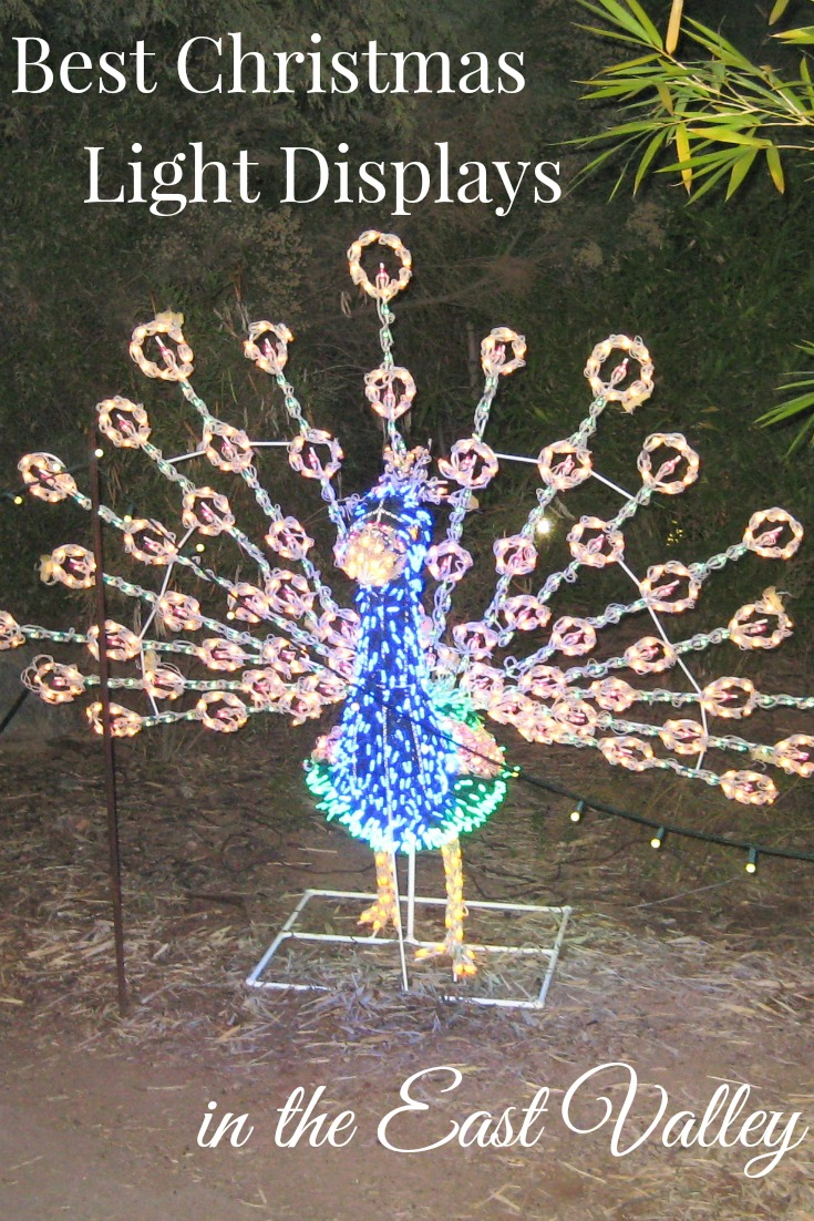 Best Christmas Light Displays in the East Valley AZ