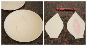 image of bunny ears from paper plates