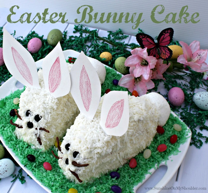image of Easter Bunny cake