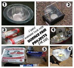 6 Homemade Solar Ovens for kids