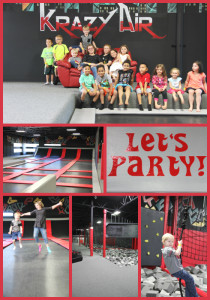 Krazy Air is a great indoor play place in the East Valley...perfect for birthdays too.