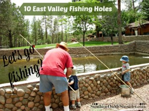 10 kid-friendly East Valley fishing holes.