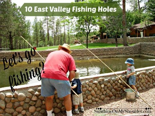 10 kid-friendly East Valley fishing holes.