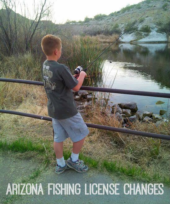 Arizona Fishing License Changes