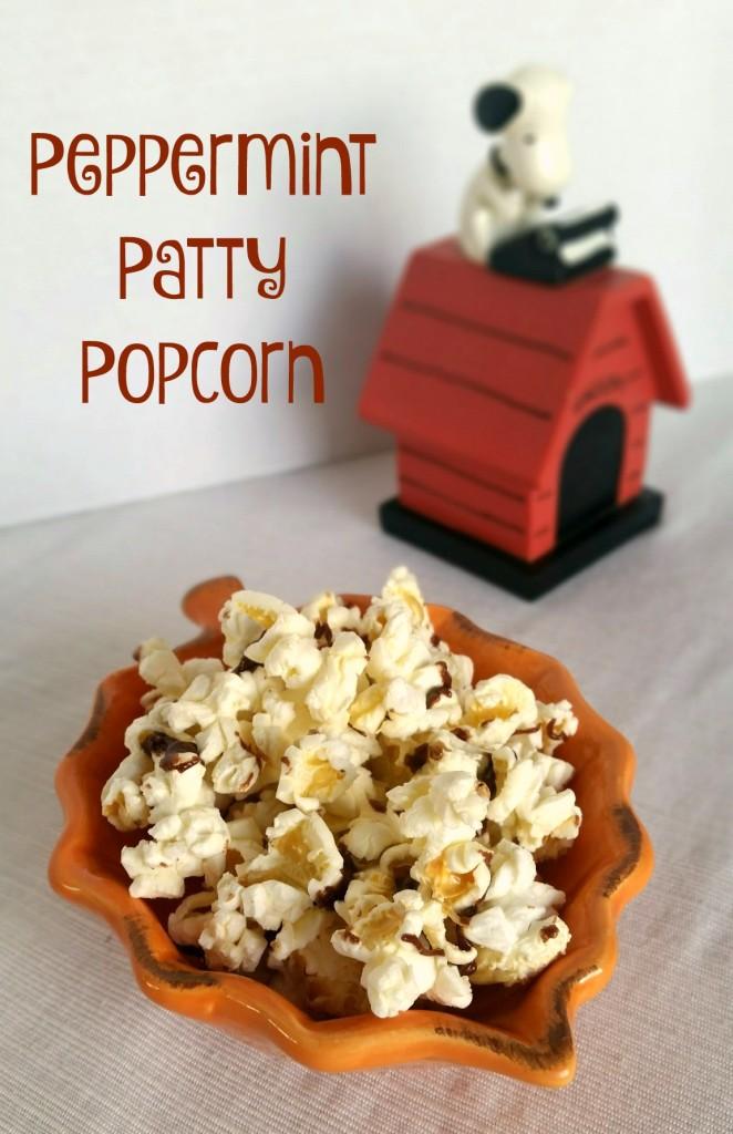 Peppermint Patty Popcorn