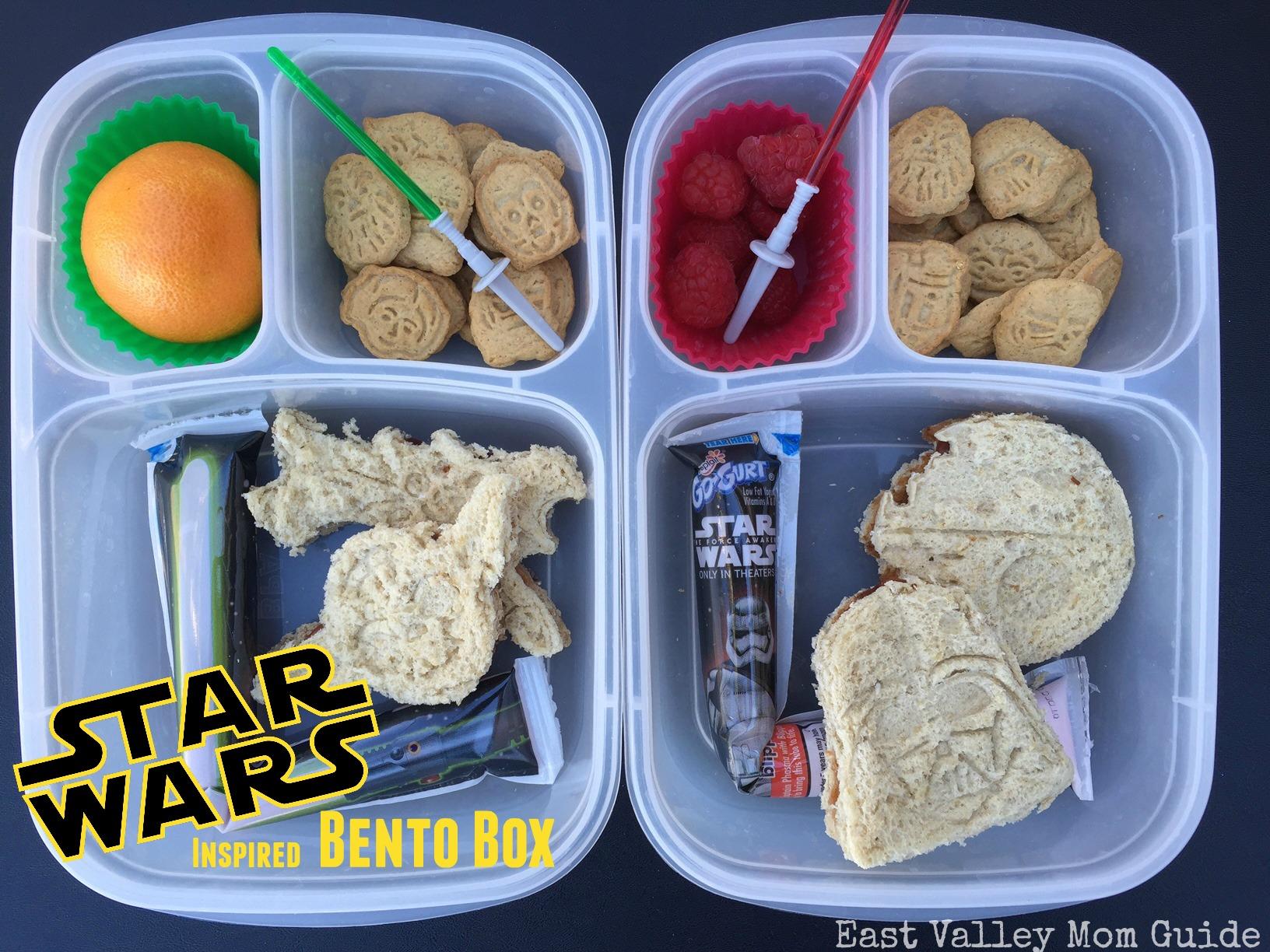 star wars inspired bento box
